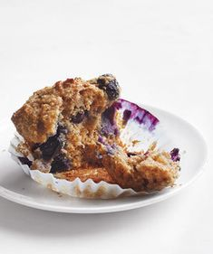 Whole-Grain Blueberry Muffins   Not a morning person? Try these easy breakfast ideas you can prepare in advance.