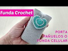 Crochet funda para tablet o libro electrónico - YouTube