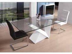 mesas de comedor modernas mesas de comedor en cristal