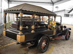 A História dos Carros Funerários!Ford 1925