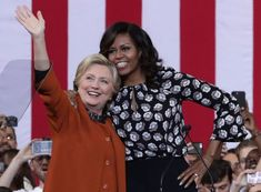 Michelle Obama Says Hillary Clinton was 'Way More Perfect' For President Than Trump