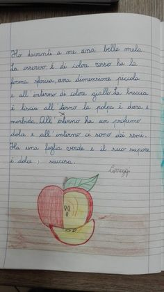 La descrizione parte seconda: Descrivere oggetti naturali e artificiali - quarta-italiano-ottobre - Maestra Anita Bullet Journal, Education, School, Writing, Alphabet, Onderwijs, Learning