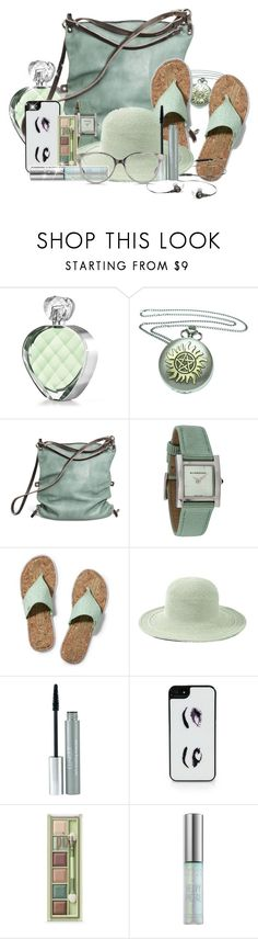 """""""mint accessories"""" by cavell ❤ liked on Polyvore featuring Elizabeth Arden, Ina Kent, Burberry, Keds, Bose, San Diego Hat Co., Clinique, Kate Spade, Pixi and Urban Decay"""