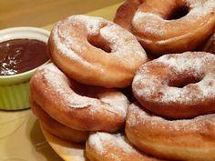 TEJ- ÉS TOJÁSALLERGIA: Tejmentes, tojásmentes fánk - VKF nevezés Milk Recipes, Churros, Tej, Bagel, Doughnut, Food And Drink, Bread, Cookies, Food Cakes