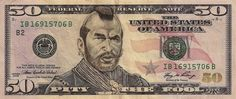 James Charles, Pop Culture Characters on Dollar Bills