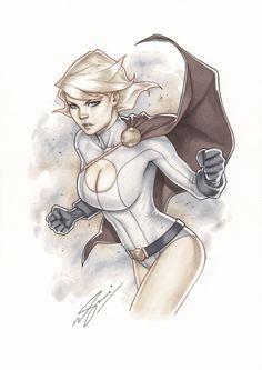 Power Girl by Sami Basri