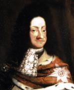 Christian 5. var konge af Danmark-Norge fra 1670; søn af Frederik 3. og Sophie Amalie af Braunschweig-Lüneburg. Han blev gift med Charlotte Amalie af Hessen-Kassel i 1667; i ægteskabet fødtes bl.a. Frederik 4.