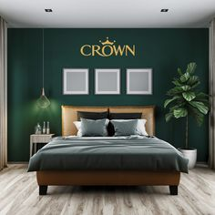 Dark Green Bedroom Walls Best Dark Green Walls Ideas On Rooms Within Wall Decor Bedroom Dark Green Bedroom Walls Dark Green Rooms Decorating Modern Bedroom Design, Master Bedroom Design, Home Decor Bedroom, Bedroom Ideas, Bedroom Designs, Budget Bedroom, Master Bedroom Color Ideas, Green Bedroom Design, Small Modern Bedroom