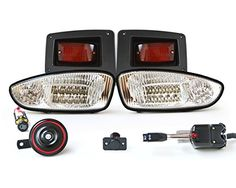 Electric Golf Cart Light Kits on ezgo light kit, golf cart led light kit, yamaha golf cart light kit,