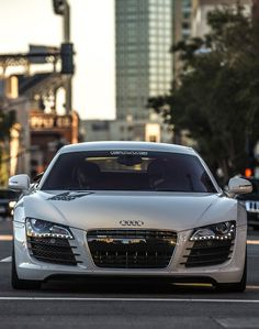 Audi R8 - I would sell my soul for this car.
