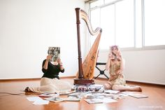 Harpa, voz e muitas fotos! – marimarques.com.br