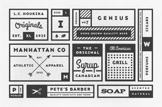 34 Vintage Labels - Objects