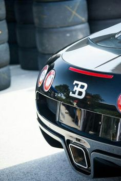 'Rear Of The Year' - Bugatti Veyron. Love it? Click to own a cool Veyron #autoart