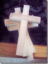 Carry Your Cross during Lent...new creation during Easter. Lots of ideas for Lent and East seasons... scroll down and you'll see a cute handprint/footprint palm Sunday craft
