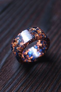 Men's Jewelry Rings, Resin Jewelry, Jewelery, Jewelry Accessories, Magical Jewelry, Resin Ring, Wooden Rings, Fantasy Jewelry, One Ring