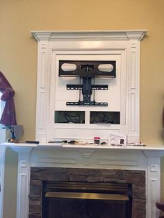 Fireplace Tv What To Do W That Ugly Hole In The Wall