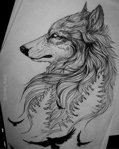 "3,736 curtidas, 54 comentários - Dmitriy Tkach (@dmitriy.tkach) no Instagram: ""Fast sketch. Available for tattoo. #tattoo #artwork #tattooing #worldofartists #art_spotlight…"""