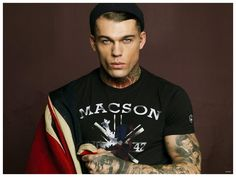 Stephen James Stars in Macson Spring/Summer 2015 Campaign
