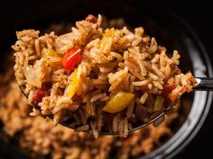Easy Spanish Rice Recipe with Instant Rice (3 Steps) - http://www.joinsuccess.net/easy-spanish-rice-recipe-with-instant-rice/