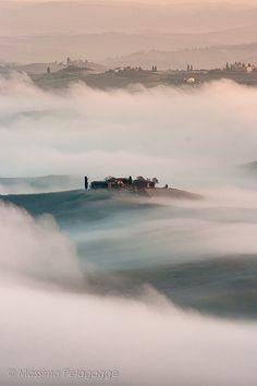 Fog  Toscana  Italy
