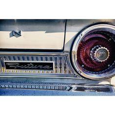 "Vintage Ford Futura Badging (16""L x 24""W)"