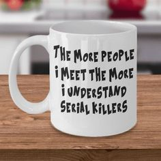 Funny coffee mugs, printed mugs for family and friends. These fun mugs make an ideal gift for birthdays, mother's day, Christmas, father's day or any occasion gifts. Say thank you with a unique and funny mug! Coffee Mug Quotes, Funny Coffee Mugs, Coffee Humor, Coffee Drinks, Coffee Cups, Quotes For Mugs, Coffee Sayings, Coffee Set, Coffee Break