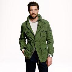 Field mechanic jacket - cotton - Men's outerwear - J.Crew