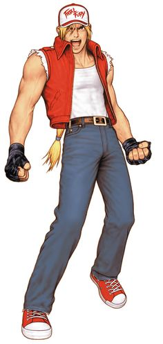 Terry Bogard from King of Fighters 2000