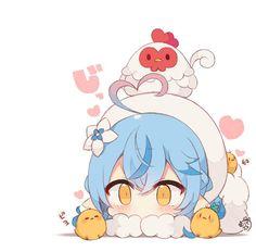 Chibi Characters, Fictional Characters, Chibi Girl, Hatsune Miku, Princess Peach, Fan Art, Cute, Anime, Artworks
