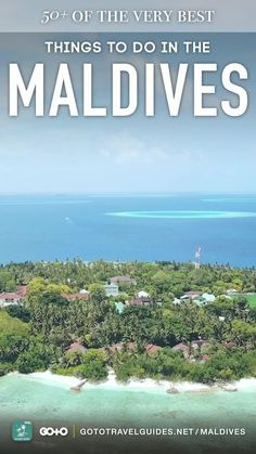 """Explore the beautiful #Maldives islands and discover the most fun things to do! Find excitement both on and off the resorts, with the """"Go To The Maldives"""" visual #TravelGuide app for iPhone, iPad, Android and Smart TV. Discover Maldives main experiences such as Male (the capital city), sunset #Dolphin cruises, #Parasailing, #IslandHopping and more! #palmtrees #visitmaldives #bandosmaldives #desertisland #privateisland #travel #asia #app #iphoneapps #ipadapps #androidapps"""