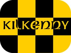 Kilkenny GAA county colours in a tattoo! The perfect size for the face, arm, neck or wrist.