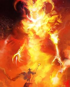 "regram @cobaltplasma ""Vision in the Flames"" #spitpaint #fantasy #illustration #fire #elemental #speedpaint"