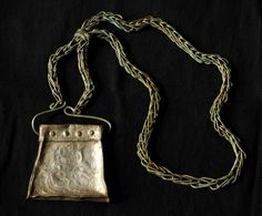 Poland - West Slavs | Kaptorga - early medieval container for amulets and/or sacred herbs, worn around the neck. | Kaptorga 1050-1060 znaleziona w okolicy Susza.