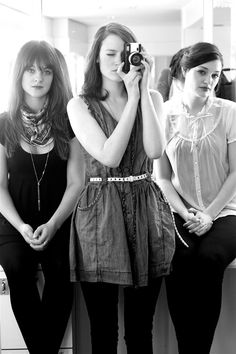 The Staves - an amazing trio of sisters - 3 incredibly talented singers  musicians... quite pleasing on the eye too.