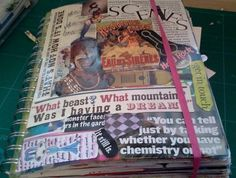 """""""What exactly is a """"junk journal""""? It might be easier to start with what it isn't. It's not a regular journal. It's not exactly an art journal either. It's not a scrapbook or a photo album. It isn't an altered book. However, it can be, or have, elements of all those things..."""""""