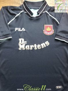 Relive West Ham s 1999 2000 season with this vintage Fila 3rd kit football  shirt. a41a8058b