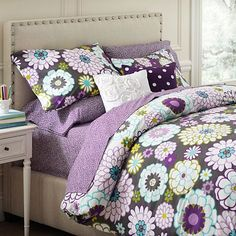 I love the Madison Floral Duvet Cover & Pillowcases on pbteen.com