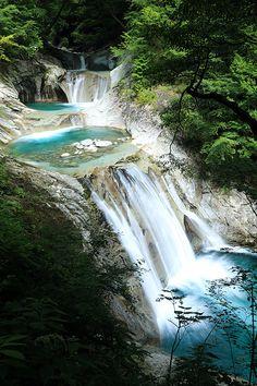 Nishizawa Valley, 西沢渓谷, Aichi Prefecture, Japan by Tetsuro Hashiguchi