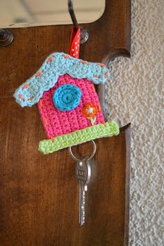 (Bird)house, Free pattern