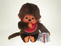 Monchichi doll!