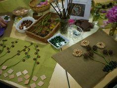 Exploring flowers {from Opal School}
