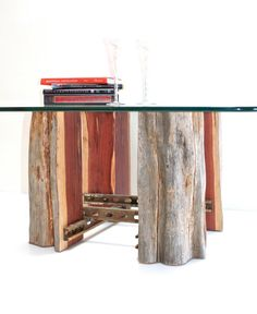 Tree Stump Coffeetable Base Reclaimed Wood by realwoodworks1, $825.00