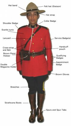 mountie uniform
