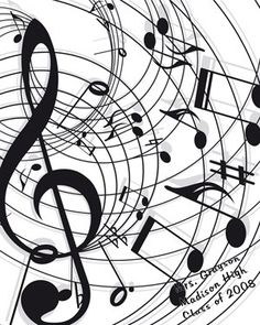 Art Musical Notes Poster into-the-woods Sound Of Music, Kinds Of Music, Music Is Life, My Music, Music Pics, Music Images, Music Stuff, Music Symbols, Pop Rock
