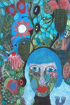 South African painter Tracy Algar at http://www.tracyalgar.co.za/