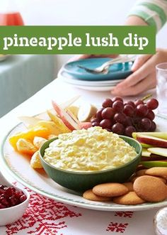 Pineapple Lush Dip -- Taste the tropics in this delicious dip recipe, ready for the table in just 10 minutes flat.