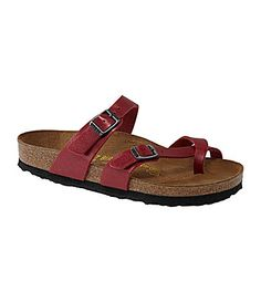 Birkenstock Women´s Mayari Sandals- I know they are so ugly but they are so comfy- I want in red or black** maybe daughter