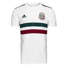 367b6bfe3a5 adidas 2018-2019 Mexico Away Football Shirt