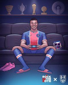 Dope Cartoon Art, Dope Cartoons, As Monaco, Neymar, Paris Saint Germain, Football Wallpaper, Football Pictures, Pretty Wallpapers, Soccer Players