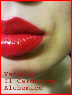 """Il Calderone Alchemico Cosmesi Home Made: LIPSTICK """"SIBERIAN RED"""" (Vanesia)"""